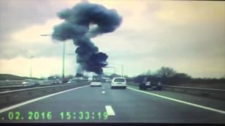 Explosion in Antwerp factory
