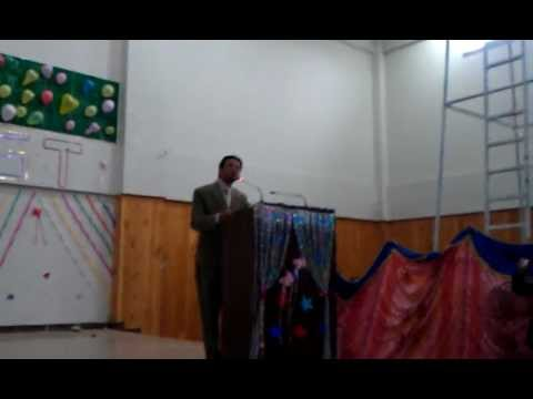 Hazara University IT department party 2012  (funny speech)