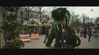 """Главная весенняя инсталляция """"Московская весна"""""""