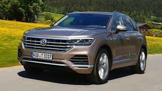Test Drive Volkswagen Touareg 2018