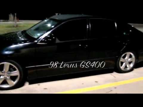 Lexus GS400 with PPE Headers with 2 5