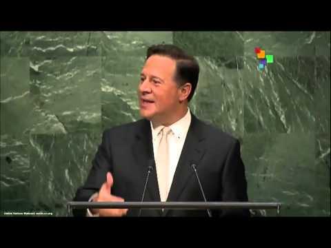 UN Speeches: Panama President Juan Carlos Varela
