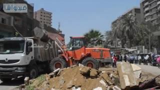 بالفيديو : محافظ الجيزة يدشن حملة