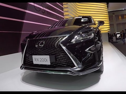 New 2017 Crossover Lexus Rx 200t 2018 Youtube