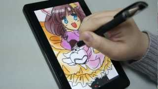 Amazon Kindle Fire Paint With Capacitive Stylus Dagi P602