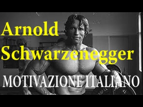 Top Palestra MOTIVAZIONE Italian Arnold Schwarzenegger Motivation  RR42