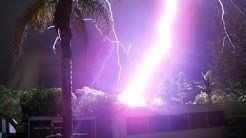 7 unglaubliche Blitzeinschläge