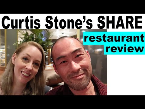 """Review of Emerald Princess restaurant """"Share"""" by Curtis Stone. Cruise Ship 2019"""