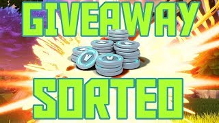 CLAN V CLAN? V BUCKS GIVEAWAY / SORTEO / RULES IN DESCRIPTION / FORTNITE LIVE / MEGAPELON_92