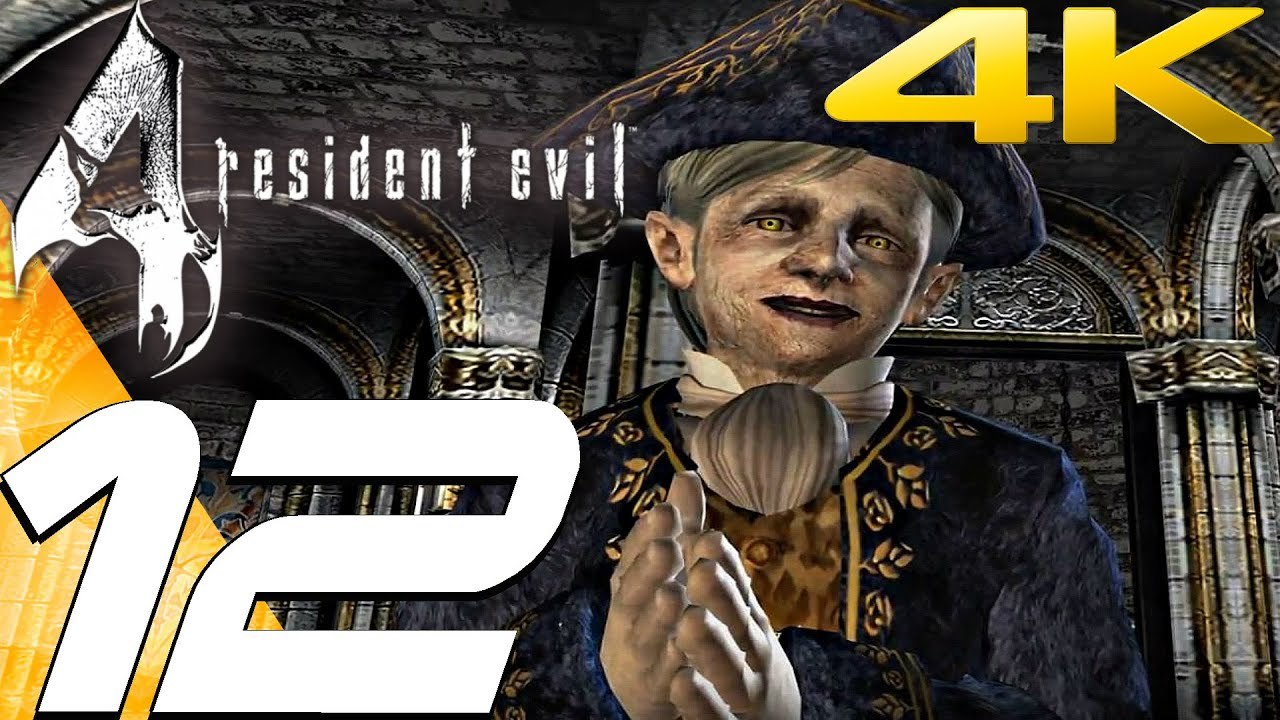 Resident Evil 4 Ultimate HD Edition - Walkthrough Part 12 - The Mines [4K  60FPS]