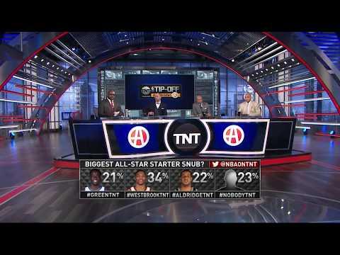 East All Star Starters Announcement | Inside The NBA | 2018 NBA All Star Weekend