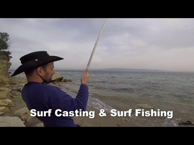 ÇANAKKALE BO?AZI ÇUPRA AVI SURF CAST?NG & SURF F?SH?NG