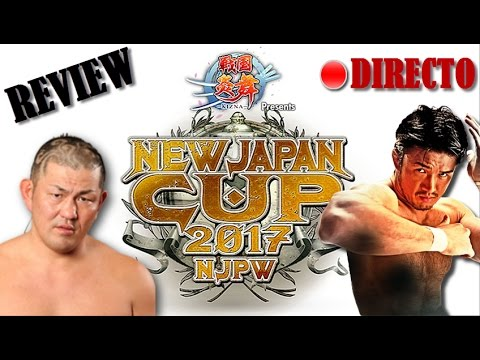 SHIBATA CAMPEÓN | REVIEW de la NEW JAPAN CUP 2017