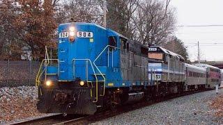 Classic EMD on MBTA Middleboro Extra