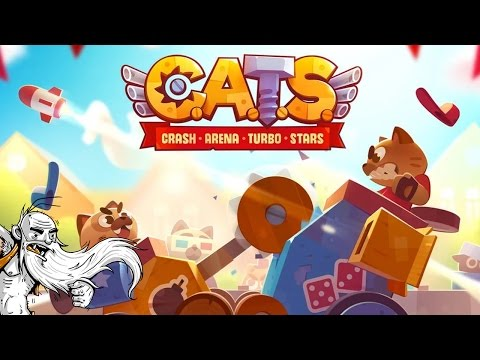 DOWNLOAD THIS GAME RIGHT NOW!!!  C.A.T.S. Crash Arena Turbo Stars IOS / Android gameplay