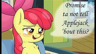 MY LITTLE PONY COMIC PROMISE NOT TO TELL APPLEJACK MLP ROMANTIC COMICS DUB