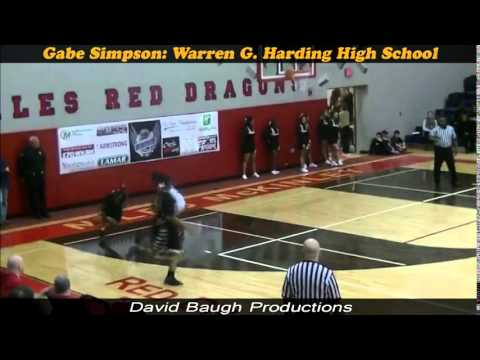 '16 Gabe Simpson- Warren G Harding High School