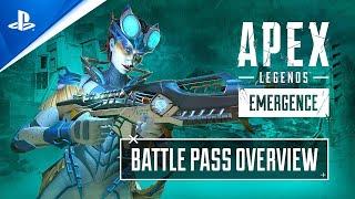 Apex Legends: Emergence - Battle Pass Trailer | PS4