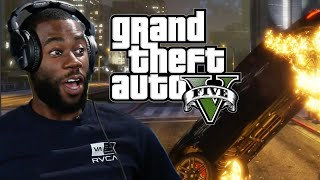 We Try To Survive The Purge in Grand Theft Auto 5