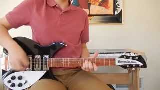 The Beatles - I Saw Her Standing There - Rhythm Guitar Cover