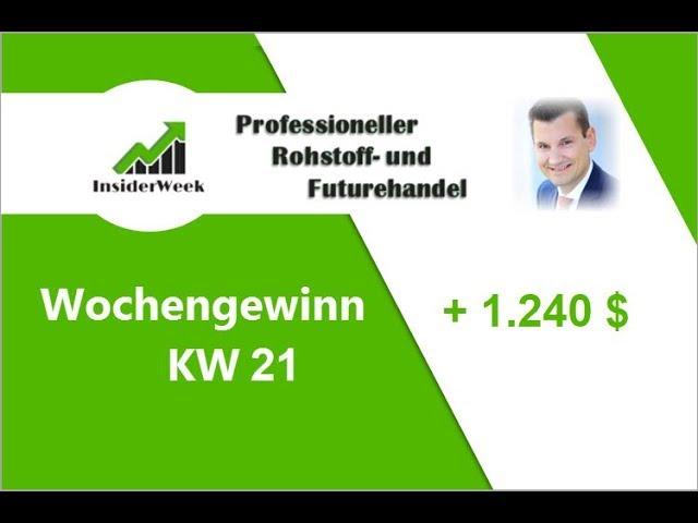 KW21 18 Handelsergebnis  ? 10.000 $ Klein-Konto. COT Daten Trading mit Max Schulz Rohstofftrader!