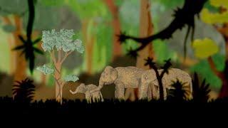 Gajah Borneo: A stop motion animation