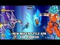 NEW DBZ AND DBS MUGEN STYLE APK FOR ANDROID DOWNLOAD 2018