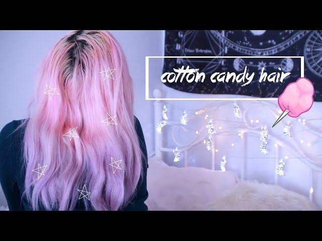 ???? cotton candy hair ????