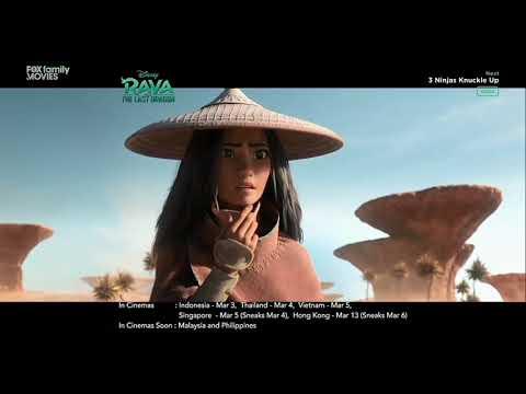 Fox Family Movies Asia TV Spot Raya and the Last Dragon