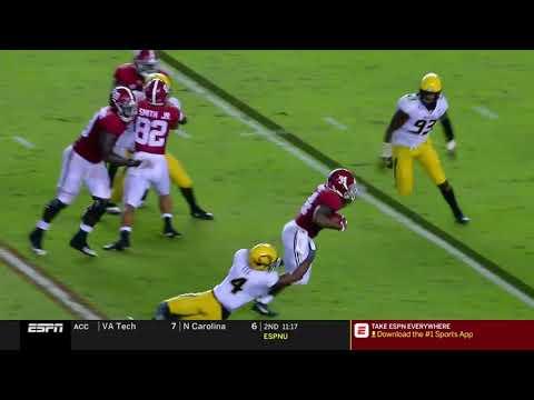 Alabama vs Missouri, 2018 (in under 32 minutes)