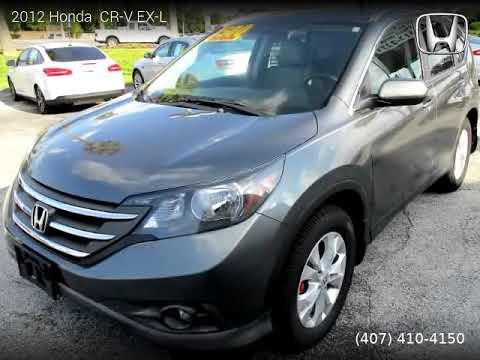 2012 Honda CR-V - Orlando Car Deals