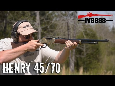 henry-45/70-lever-action-rifle