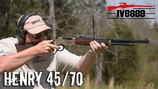 Henry 45/70 Lever Action Rifle