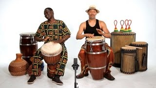 Djembe vs. Conga | African Drums
