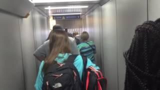 boarding aa flight 1080 from dfw lga