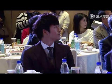 장혁 in 上海 20141024<QQ.com News> Jang Hyuk in Shanghai