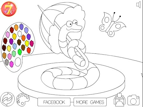 Snake Coloring Pages For Kids