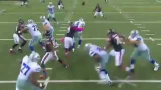Tony Romo 5 Interceptions Montage Bears Cowboys