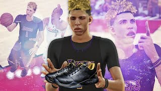 NBA 2K17 MyCAREER LaMelo Ball #2 - Wearing Lonzo Ball Signature ZO2 Shoes!!