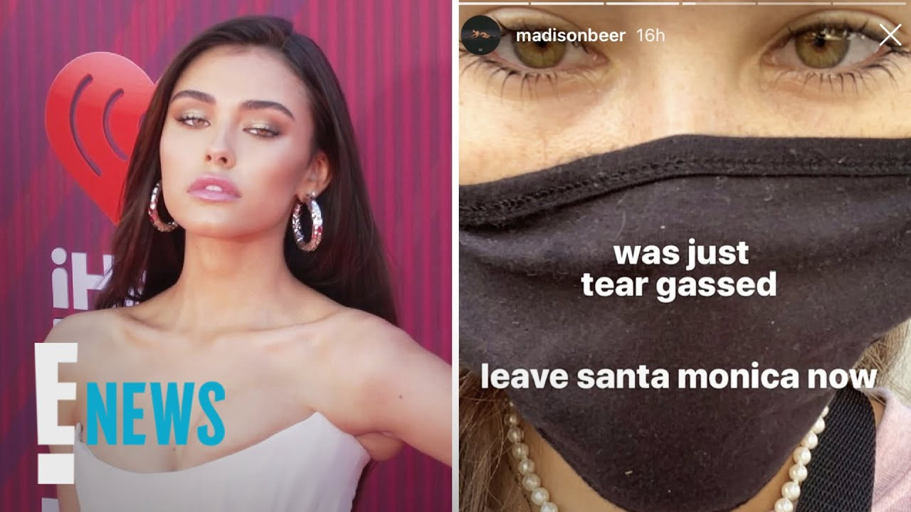 Madison Beer Tear Gassed While Protesting George Floyd's Death News