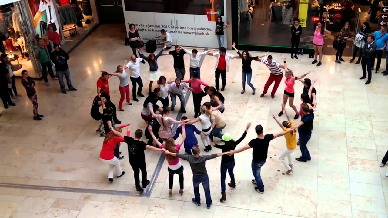 Flashmob rueda de casino revel casino atlantic city