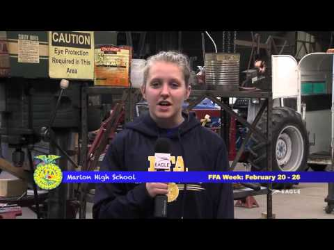 FFA Week 2016: Marion KS High School