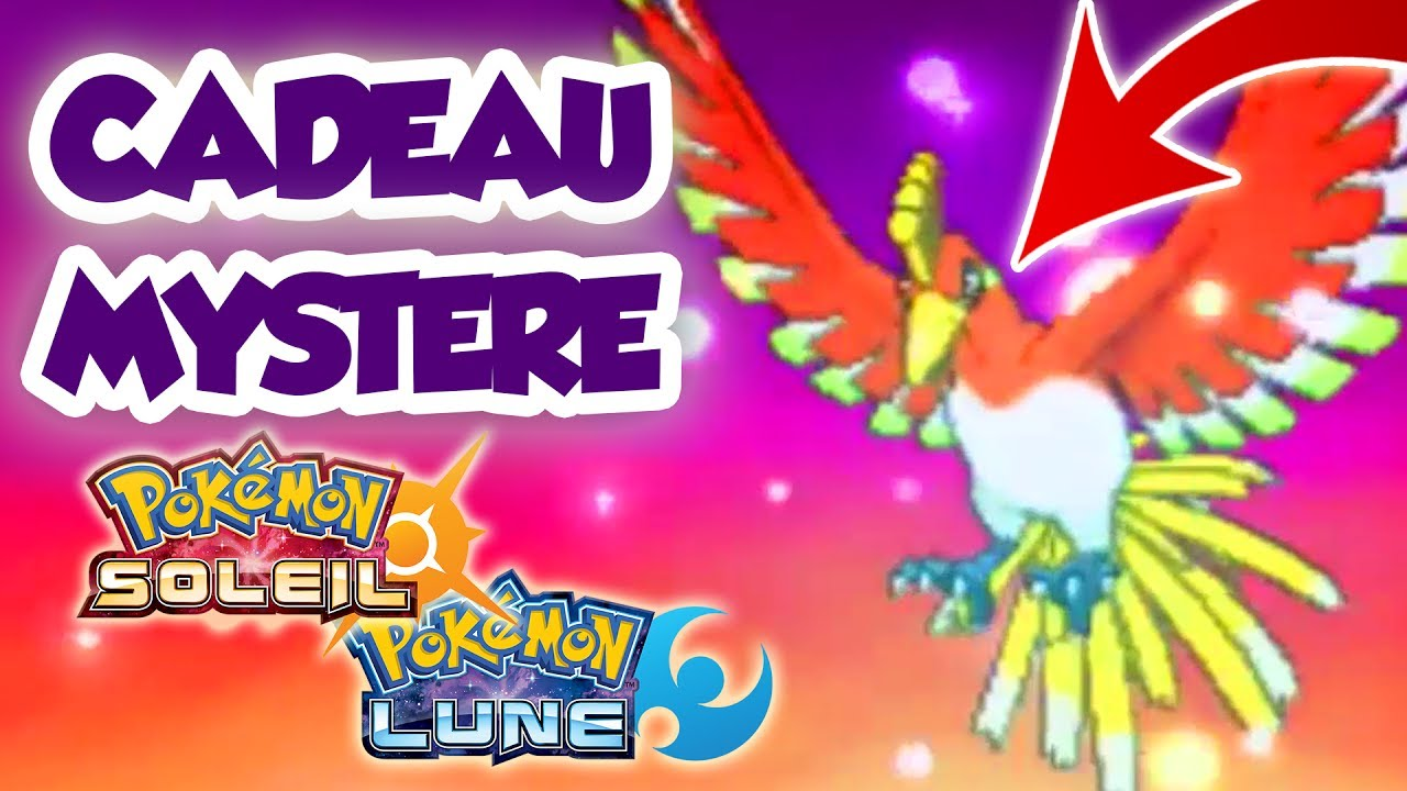 Recevoir Ho Oh Par Cadeau Mystere Sur Pokemon Soleil Et Lune