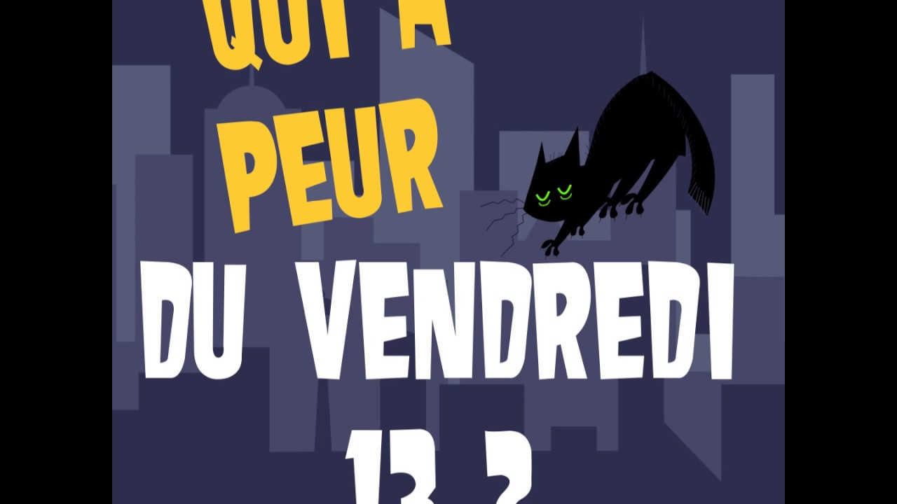 Qui a peur du vendredi 13 youtube for Peur du nombre 13