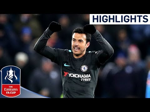 Pedro Scores the Winner in ExtraTime!  Leicester 12 Chelsea  Emirates FA Cup 201718