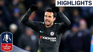 Pedro Scores the Winner in Extra-Time  Leicester 1-2 Chelsea  Emirates FA Cup 201718