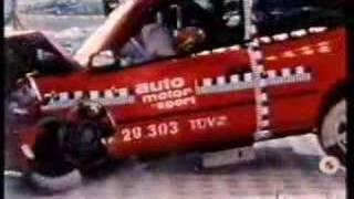 Crash-Test Corolla E10