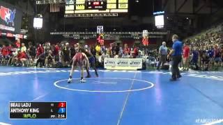 88 Champ. Round 2 - Anthony King (Illinois) vs. Beau Ladu (Wisconsin)