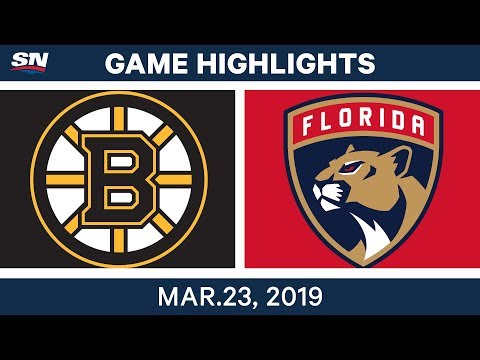 NHL Game Highlights | Bruins vs. Panthers – March 23, 2019