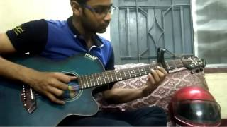 zulfiqar | ghowrbari | anupam roy | acoustic guitar cover (fingerstyle version)